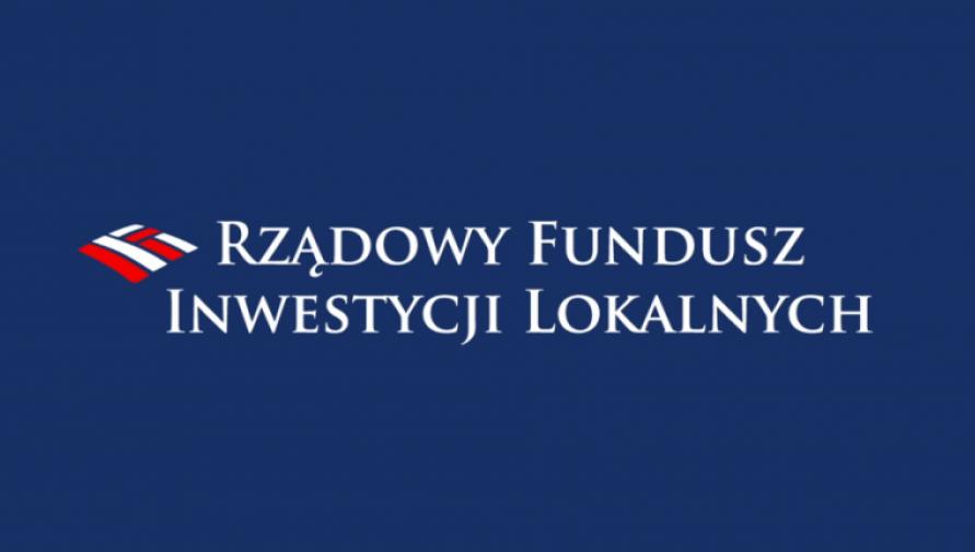 Rządowy Fundusz Inwestycji Lokalnych - logo projektu