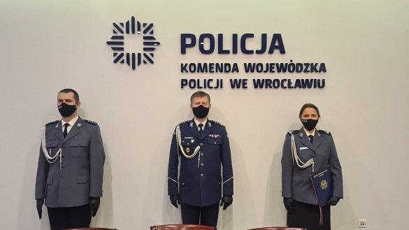 Powołanie na stanowisko I Zastępcy Komendanta Powiatowego Policji w Lubaniu Podinspektora Agaty Sekuły